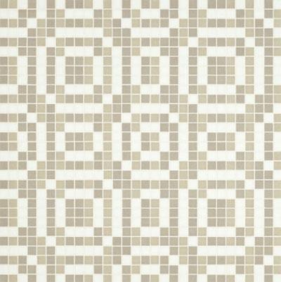 Bisazza Mosaico Decori VTC 20 - Stamps Grey Tile & Stone