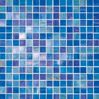 Bisazza Mosaico Blue Collection 20 Liz Tile & Stone