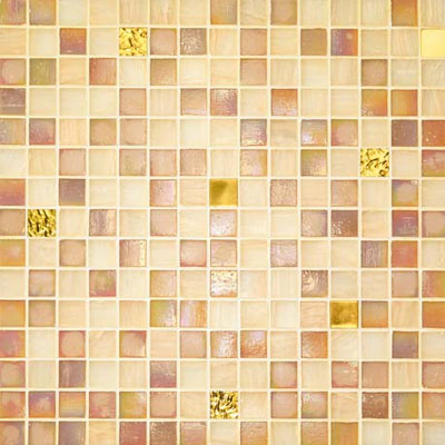 Bisazza Mosaico Gold Collection 20 Cleopatra Tile & Stone