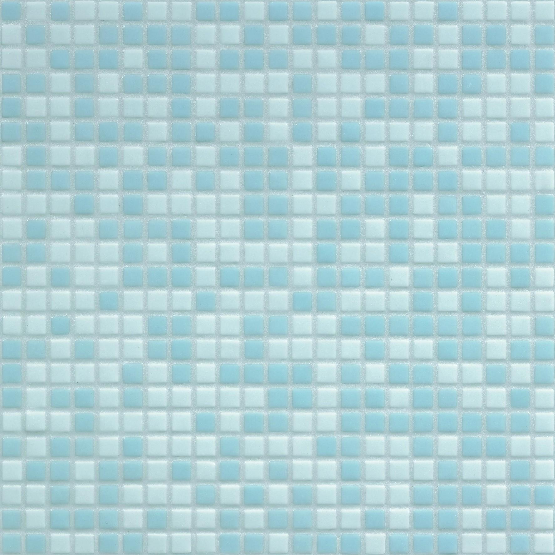 Bisazza Mosaico Opus Romano Mixes 12mm Azzurra Tile & Stone