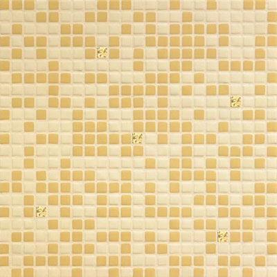 Bisazza Mosaico Opus Romano Mixes with Gold 12mm Bice Oro Tile & Stone