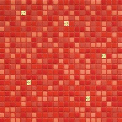 Bisazza Mosaico Opus Romano Mixes with Gold 12mm Fiama Oro Tile & Stone