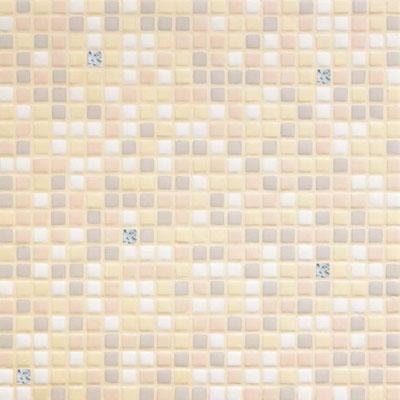 Bisazza Mosaico Opus Romano Mixes with Gold 12mm Ghiaia Oro Tile & Stone
