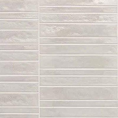 Casa Dolce Casa Vetro Neutra Listello Dritto Bianco Tile & Stone