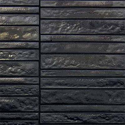 Casa Dolce Casa Vetro Neutra Listello Dritto Lux Carbone Tile & Stone