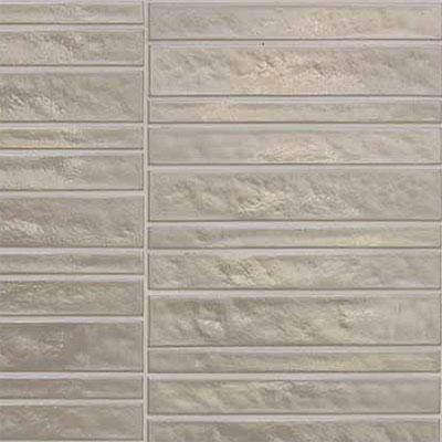 Casa Dolce Casa Vetro Neutra Listello Dritto Silver Tile & Stone