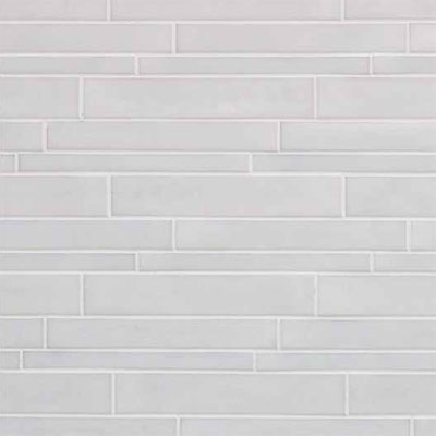 Casa Dolce Casa Vetro Neutra Listello Sfalsato Lux Bianco Tile & Stone