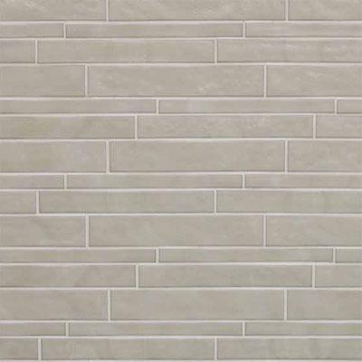 Casa Dolce Casa Vetro Neutra Listello Sfalsato Lux Silver Tile & Stone