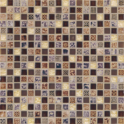 Casa Italia Antica Roma Mosaic Bronze Tile & Stone
