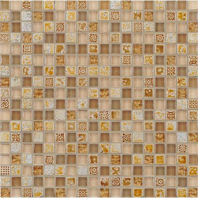 Casa Italia Antica Roma Mosaic Copper Tile & Stone