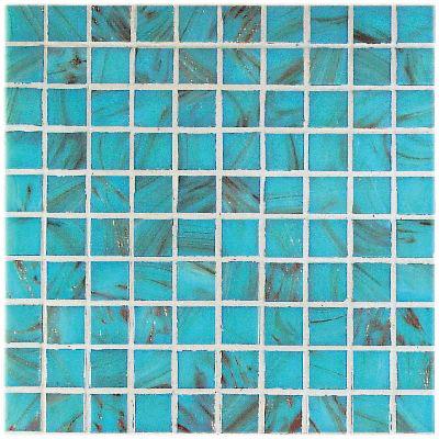 Casa Italia Bronze/Gold Monocolor Mosaic Azzurro Mono Bronzo (GA03-N) Tile & Stone