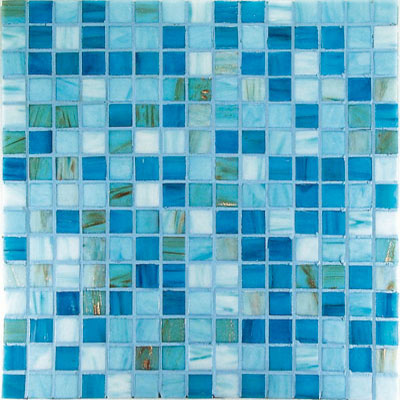 Casa Italia Project Plus Bronze Mix Mosaic Azzurro (M20-N) Tile & Stone