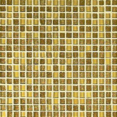Casa Italia Crystal-A Trasparenze Glitter Mix Mosaic 1/2 x 1/2 Oro (103G-N) Tile & Stone