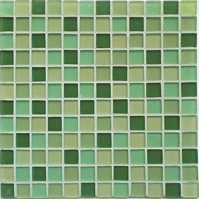 Casa Italia Crystal-C Trasparenze Frost Mosaic Green (GREENMA-N) Tile & Stone