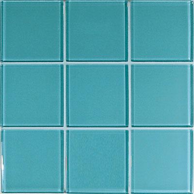Casa Italia Crystal-C Trasparenze Glossy 4 x 4 Light Blue Tile & Stone