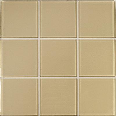 Casa Italia Crystal-C Trasparenze Glossy 4 x 4 Beige Tile & Stone