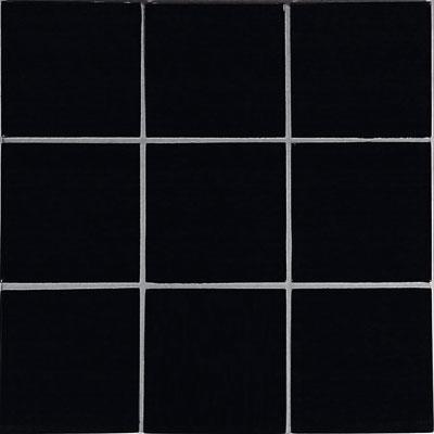 Casa Italia Crystal-C Trasparenze Glossy 4 x 4 Black Tile & Stone