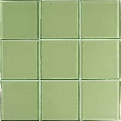 Casa Italia Crystal-C Trasparenze Glossy 4 x 4 Green Tile & Stone