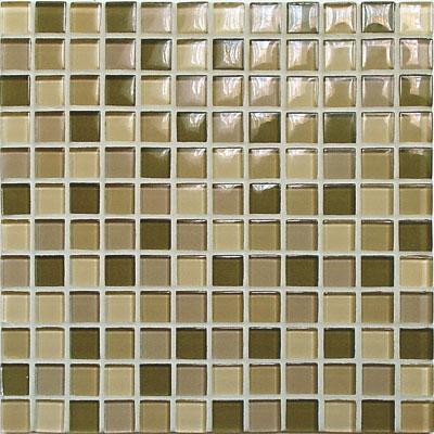 Casa Italia Crystal-C Trasparenze Glossy Mosaic Forest Tile & Stone
