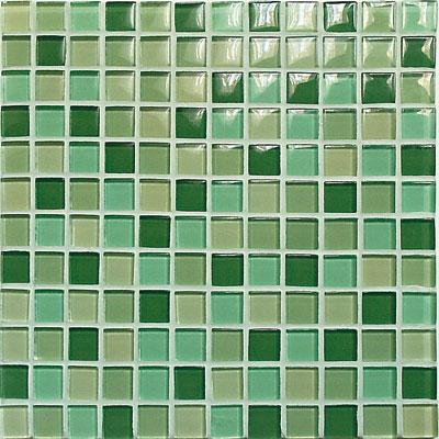 Casa Italia Crystal-C Trasparenze Glossy Mosaic Green Tile & Stone