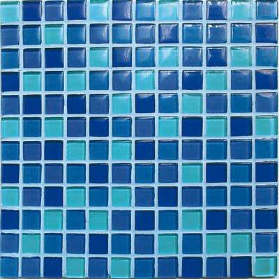 Casa Italia Crystal-C Trasparenze Glossy Mosaic Sky Tile & Stone