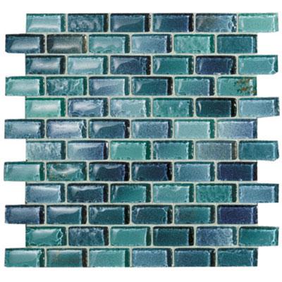 Casa Italia Fashion Mix Mosaic 1 x 2 Azzurro (MFSAZ234-N) Tile & Stone