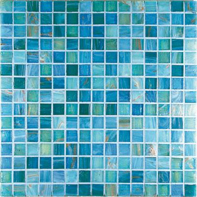 Casa Italia Gold/Bronze Mix Mosaic Aquamarine Mix (G5-N) Tile & Stone