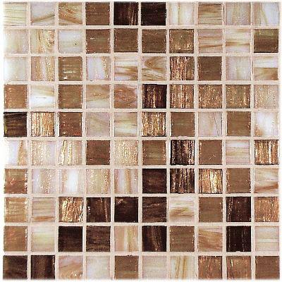 Casa Italia Gold/Bronze Mix Mosaic Gold Mix (G1-N) Tile & Stone