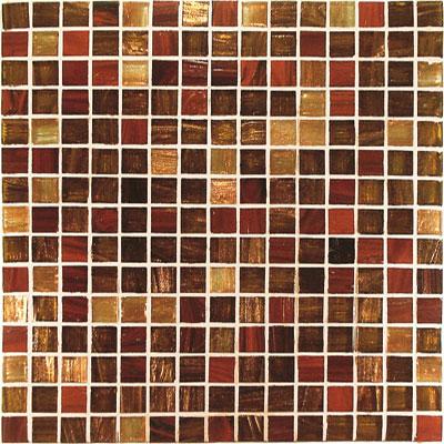 Casa Italia Gold/Bronze Mix Mosaic Rosso/Ramato Mix (V4380-N) Tile & Stone