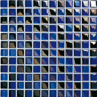 Casa Italia Metallica Mix Mosaic Blue Metallica (MMT3BL23-N) Tile & Stone