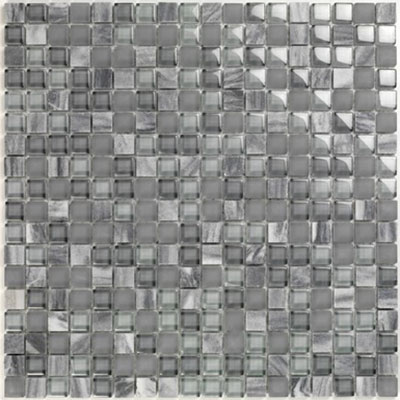 Casa Italia Pure & Natural Mosaic Frost Blue Stone (07200007) Tile & Stone