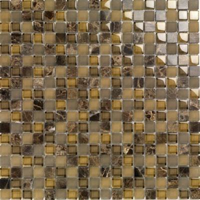 Casa Italia Pure & Natural Mosaic Glossy Dark Emperador (07200006) Tile & Stone