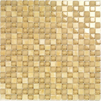 Casa Italia Pure & Natural Mosaic Glossy Onix Beige (07200002) Tile & Stone