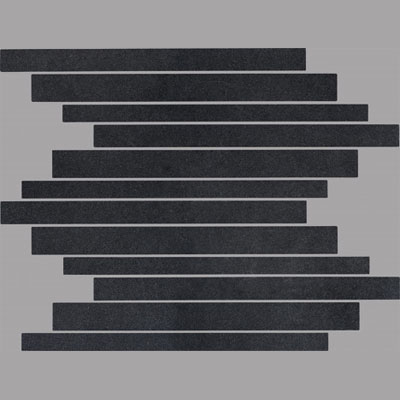 Cerdomus Themes Mosaic 12 x 12 Black Star Tile & Stone