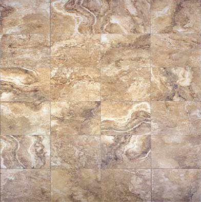Chesapeake Flooring Digital Travertine Ceramic Floor 24 X 24 Noce Tile & Stone