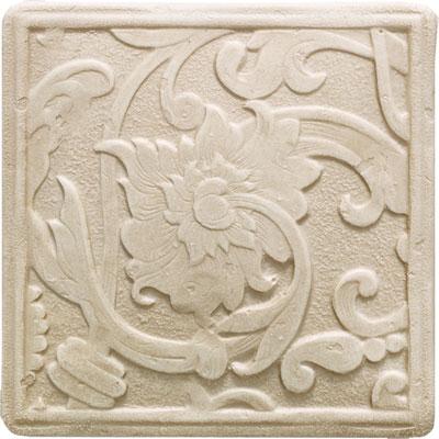Daltile Arabesque Decos and Inserts Crema Fabrege Deco Tile & Stone
