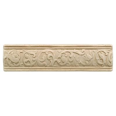 Daltile Arabesque Decos and Inserts Crema Fabrege Liner Tile & Stone