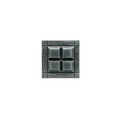 Daltile Armor 2 x 2 Dot Forged Steel 2 x 2 Four Square Tile & Stone