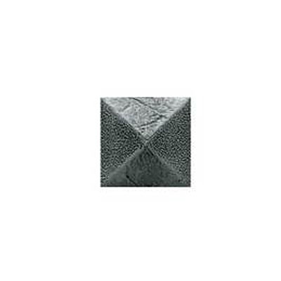 Daltile Armor 2 x 2 Dot Forged Steel 2 x 2 Pyramid Tile & Stone