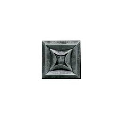 Daltile Armor 2 x 2 Dot Forged Steel 2 x 2 Star Tile & Stone