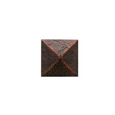Daltile Armor 2 x 2 Dot Guilded Copper 2 x 2 Pyramid Tile & Stone