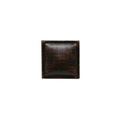 Daltile Armor 2 x 2 Dot Oil Rubbed Bronze 2 x 2 Pillow Tile & Stone