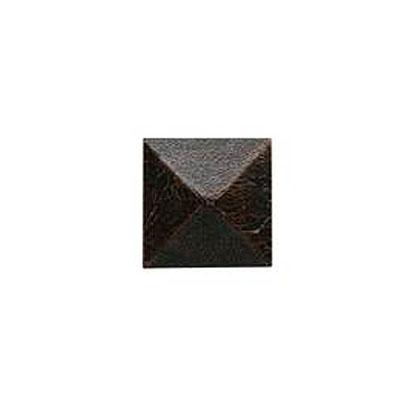 Daltile Armor 2 x 2 Dot Oil Rubbed Bronze 2 x 2 Pyramid Tile & Stone