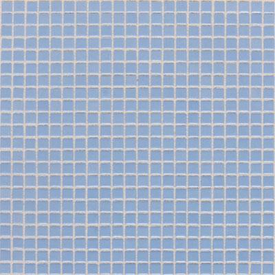 Daltile Athena Mosaics Solid 12 x 12 Baby Blue Tile & Stone