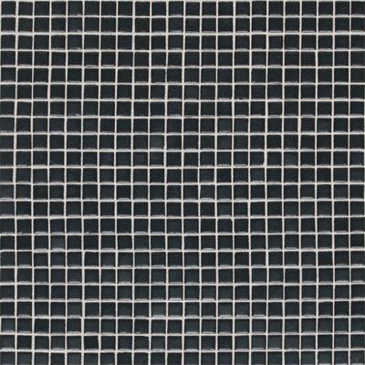 Daltile Athena Mosaics Solid 12 x 12 Black Tile & Stone