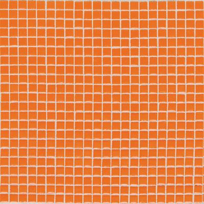 Daltile Athena Mosaics Solid 12 x 12 Orange Burst Tile & Stone