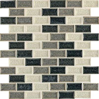 Daltile Aura 1 x 2 Brick Joint Mosaic Ocean Spray Tile & Stone