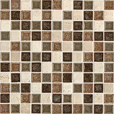 Daltile Aura 1 x 1 Mosaic Autumn Haze Tile & Stone