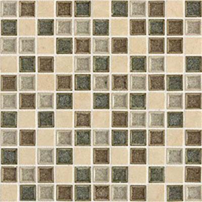 Daltile Aura 1 x 1 Mosaic Meadow Mist Tile & Stone