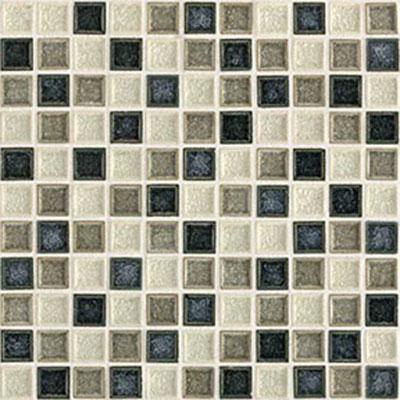 Daltile Aura 1 x 1 Mosaic Ocean Spray Tile & Stone